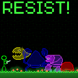A preview image of Resist!